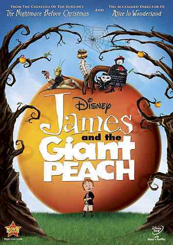 JAMES AND THE GIANT PEACH BY CALLOW,SIMON (DVD)